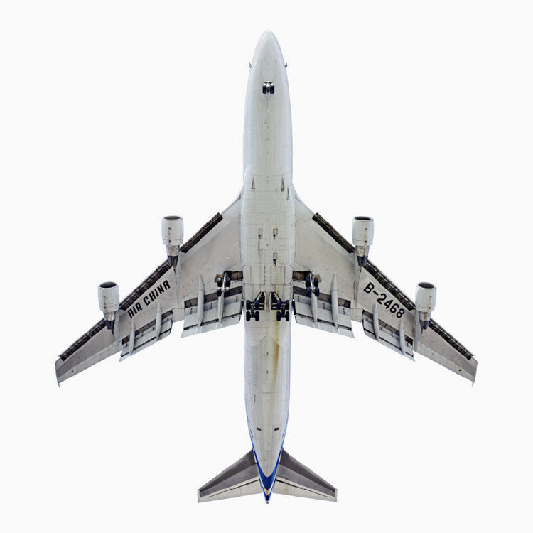 Jeffrey Milstein Artwork 'Air China Boeing 747-400' | Available at fosterwhite.com