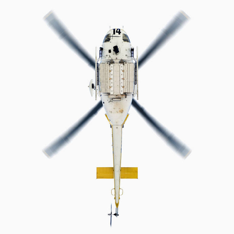 Jeffrey Milstein Artwork 'LA County Fire Dept. Bell 412EP' | Available at fosterwhite.com
