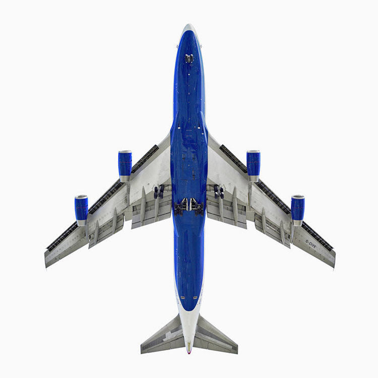 Jeffrey Milstein Artwork 'British Airways Boeing 747-400- Edition of 3' | Available at fosterwhite.com