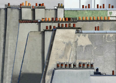 Michael Wolf Artwork 'Paris Rooftops 4 - Edition of 9' | Available at fosterwhite.com