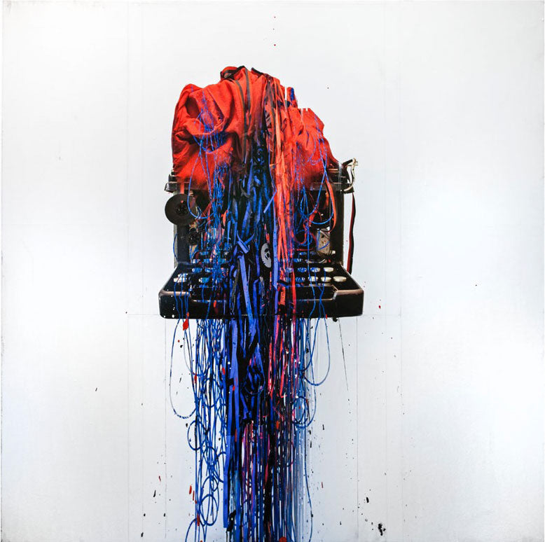 Andre Petterson Artwork 'Cobalt Spill' | Available at fosterwhite.com