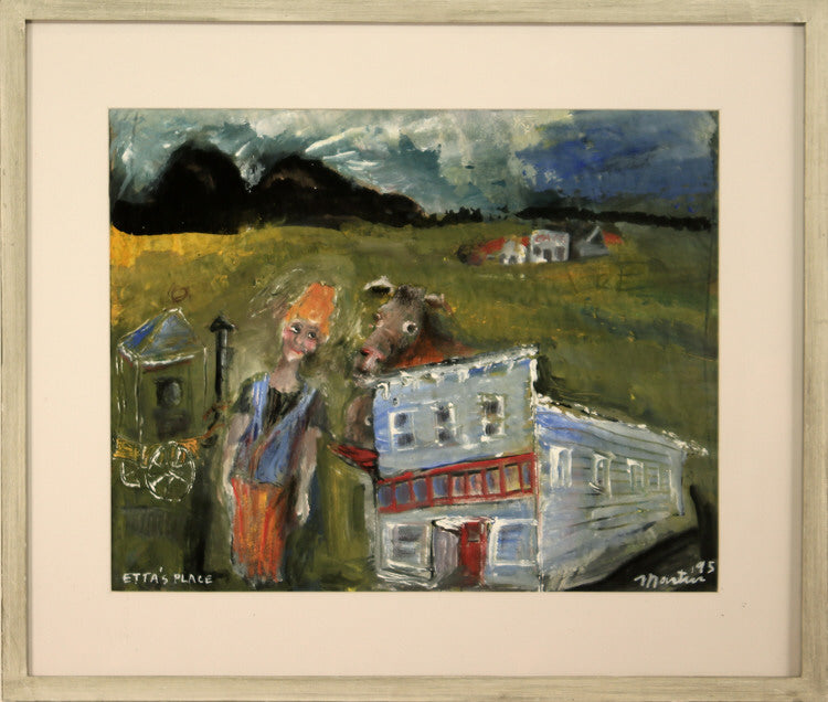 James Martin Artwork 'Etta's Place' | Available at fosterwhite.com