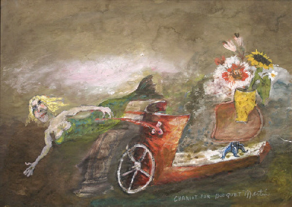 James Martin Artwork 'Chariot for Bouquet' | Available at fosterwhite.com