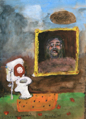 James Martin Artwork 'Toilette (Caveman)' | Available at fosterwhite.com