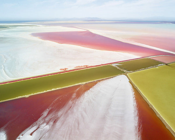 David Burdeny Artwork 'Saltern Study 02, Great Salt Lake, UT' | Available at fosterwhite.com