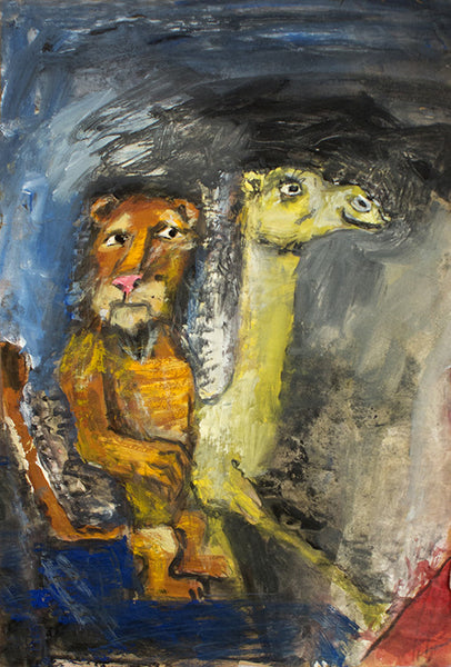 James Martin Artwork 'Untitled (Lion and Camel)' | Available at fosterwhite.com