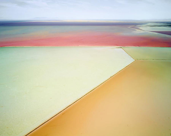 David Burdeny Artwork 'Saltern Study 01, Great Salt Lake, UT, 2015' | Available at fosterwhite.com