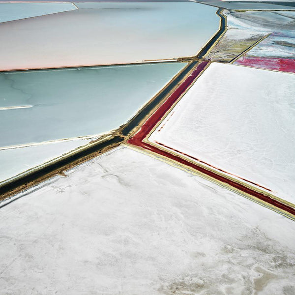 David Burdeny Artwork 'Saltern Study 17, Great Salt Lake, UT, 2015' | Available at fosterwhite.com