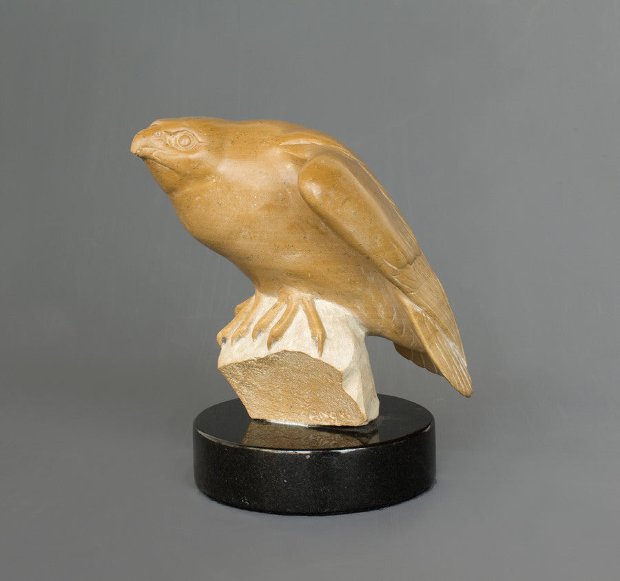 Tony Angell Artwork 'Alert Small Falcon' | Available at fosterwhite.com