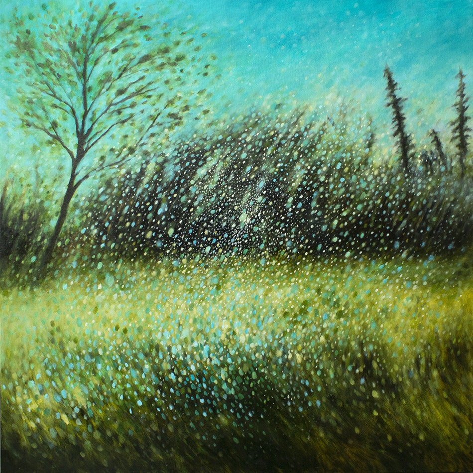 Sheri Bakes Artwork 'Winter Storm' | Available at fosterwhite.com