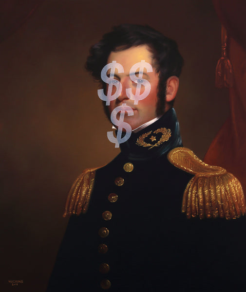 Shawn Huckins Artwork 'Follow the Money: Young Robert E. LeeÉ' | Available at fosterwhite.com