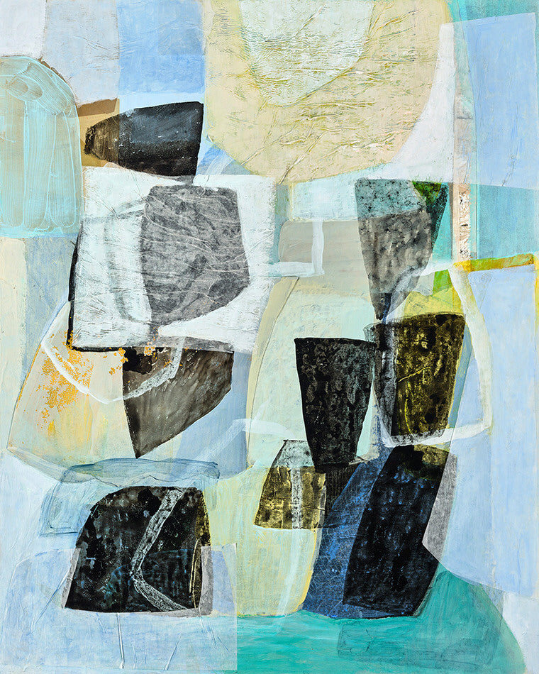 Eva Isaksen Artwork 'Sun, Sea, Stones' | Available at fosterwhite.com