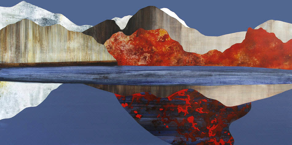 Sarah Winkler Artwork 'Floating Island Waterways' | Available at fosterwhite.com
