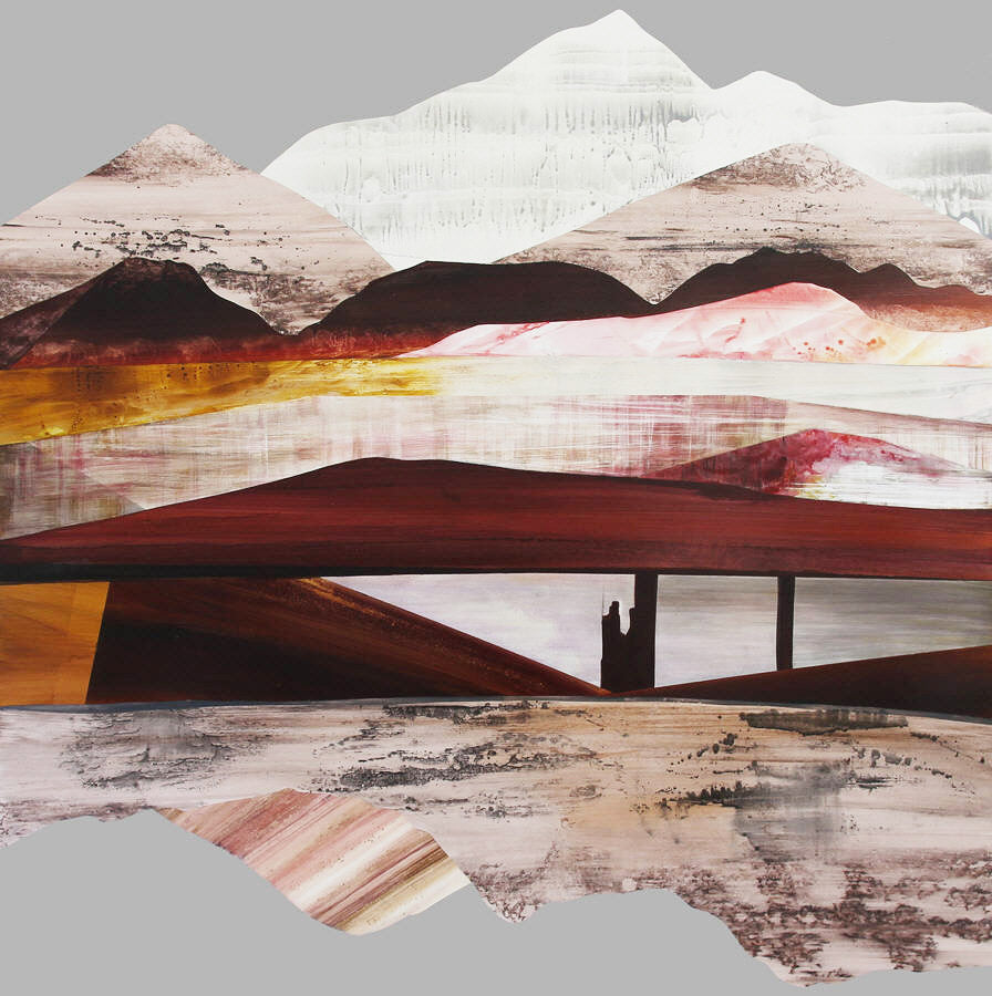 Sarah Winkler Artwork 'Mount Rainier Dreamscape' | Available at fosterwhite.com