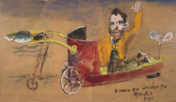 James Martin Artwork 'V. Gogh On Windup Toy' | Available at fosterwhite.com