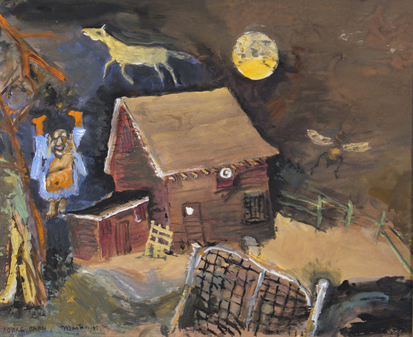 James Martin Artwork 'Horse Barn' | Available at fosterwhite.com