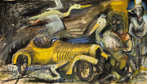James Martin Artwork 'Heron' | Available at fosterwhite.com