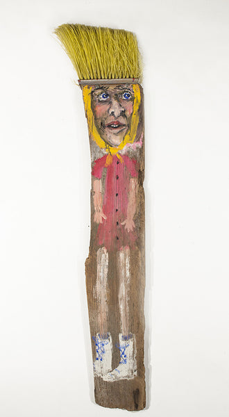 James Martin Artwork 'Broom Lady' | Available at fosterwhite.com