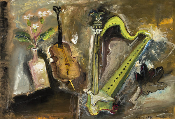 James Martin Artwork 'Green Harp' | Available at fosterwhite.com