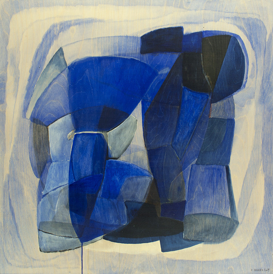 Eva Isaksen Artwork 'Northern Blues 1' | Available at fosterwhite.com