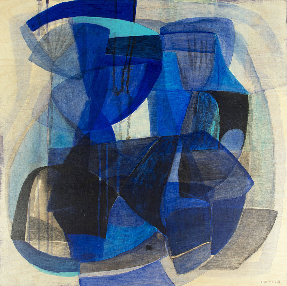 Eva Isaksen Artwork 'Northern Blues 2' | Available at fosterwhite.com