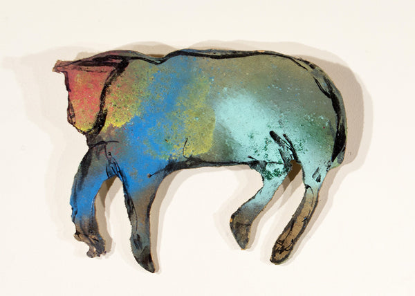 Casey McGlynn Artwork 'Small Herd #2' | Available at fosterwhite.com