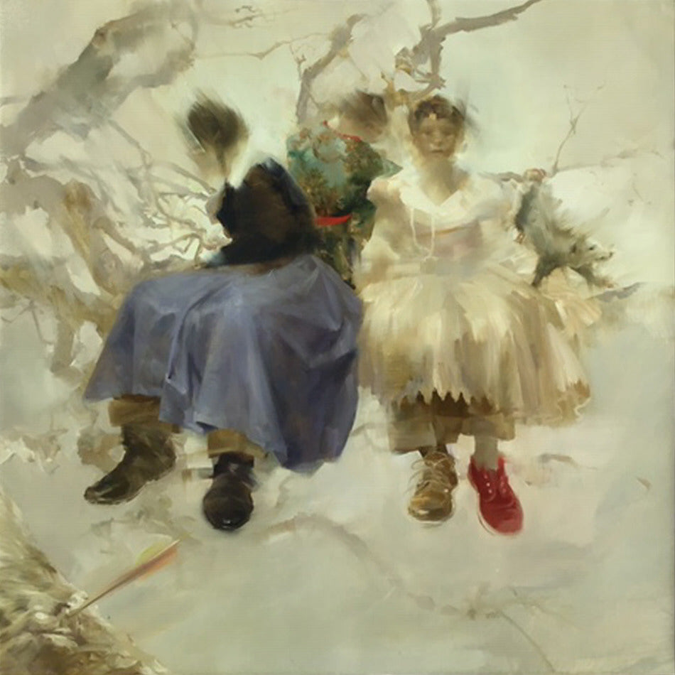 Sarah McRae Morton Artwork 'The Opossums' Trousers after Goya's Ridiculous Folly 1816' | Available at fosterwhite.com