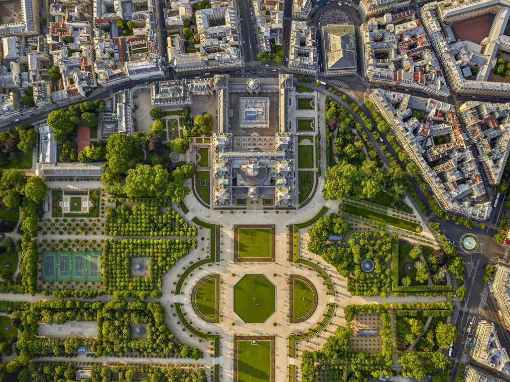 Jeffrey Milstein Artwork 'Luxembourg Gardens 2' | Available at fosterwhite.com