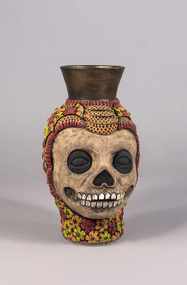 George Rodriguez Artwork 'Calavera del Fuego' | Available at fosterwhite.com