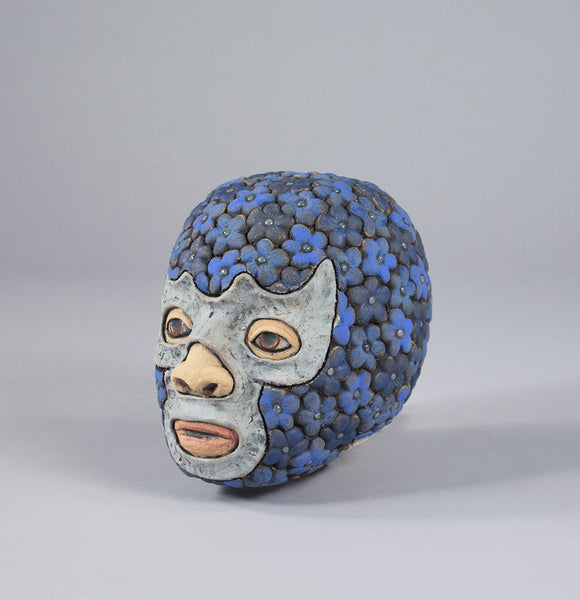George Rodriguez Artwork 'Luchador - Blue Demon' | Available at fosterwhite.com