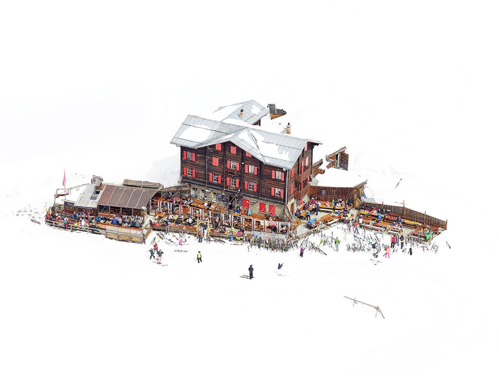 Joshua Jensen-Nagle - Chalet Days - 4 sizes | Available at Foster White Gallery Seattle