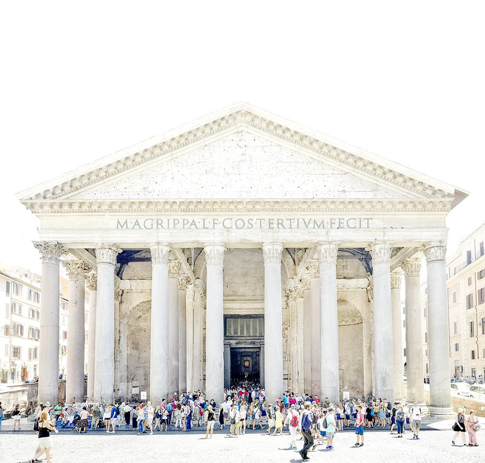 Joshua Jensen-Nagle - Remembering The Pantheon - 4 sizes | Available at Foster White Gallery Seattle