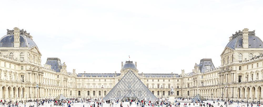 Joshua Jensen-Nagle - The Louvre With You - 4 sizes | Available at Foster White Gallery Seattle