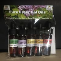 Essential Oil 5 Pack Starter Kit