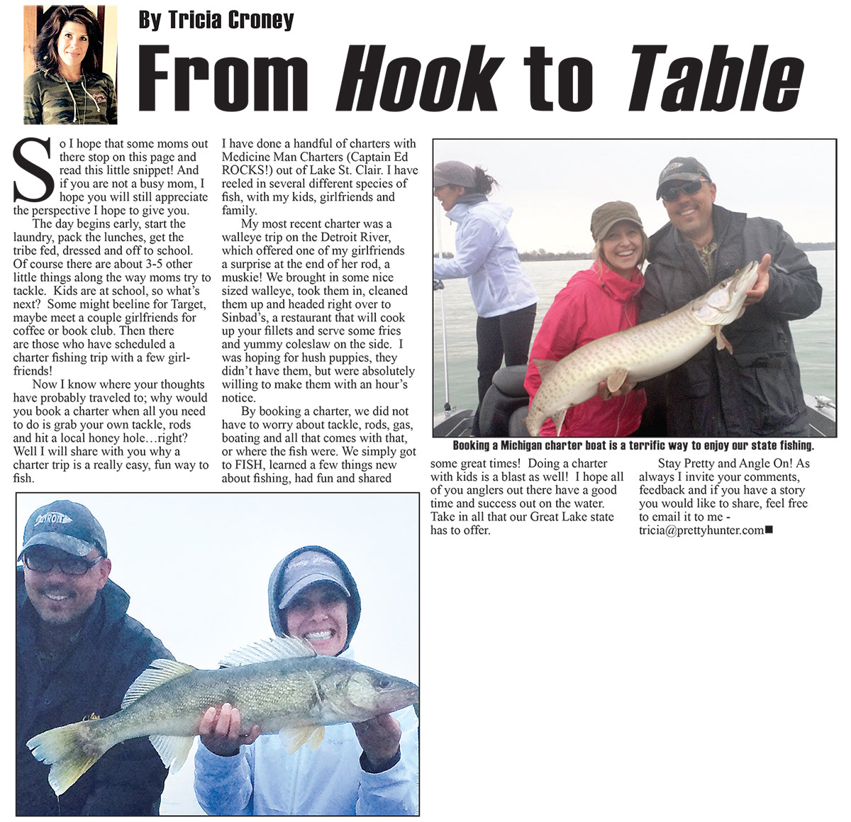 From Hook to Table Article