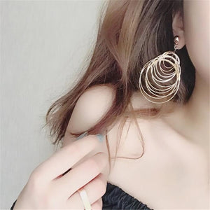 Earrings Fashion Jewelry With Big Circle