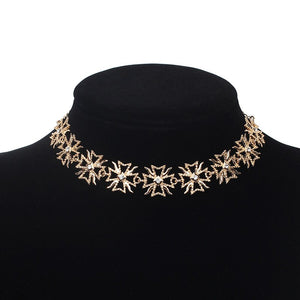 Luokey New Bohemia Women Choker Collar Minimalist Cross Collier Charm Jewelry Wedding Necklace Female Party Ornaments Accesories