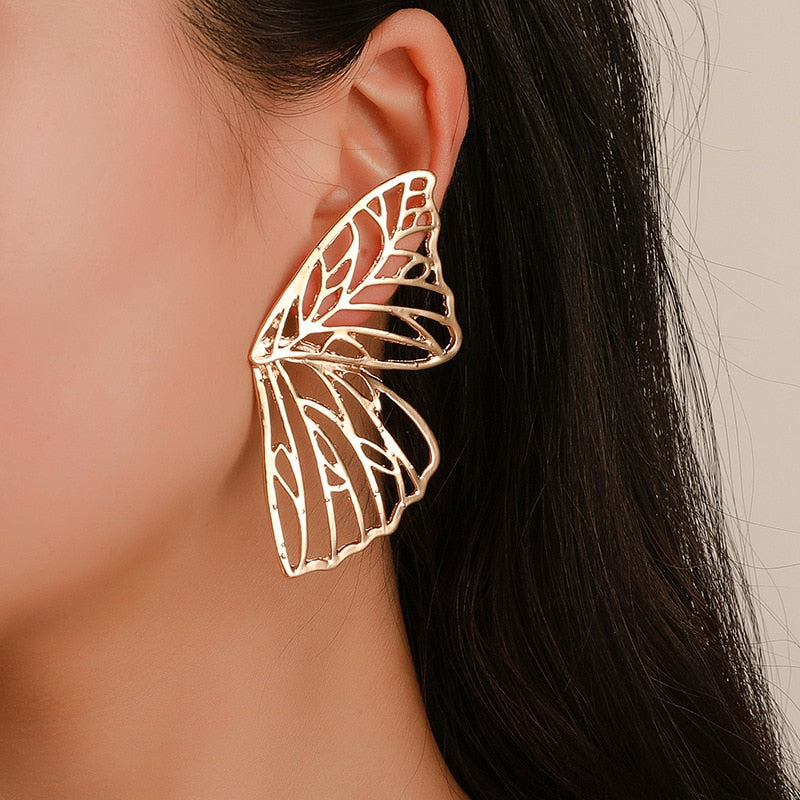 Elegant Butterfly Wings Earrings
