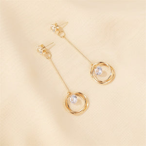 Korean New Style Fashion Long Hanging Dangle Earrings