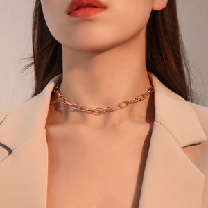 Luokey Snake Chain Choker Collar Necklace For Women Small Tiny Crystal Butterfly Necklace Charm Jewelry Collares Gift For Friend