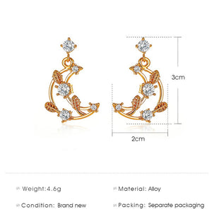 Fashion Simple Gold Earrings