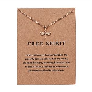 Luokey Hot Sale Pearl Butterfly Pendants Necklaces For Women Cute Animal Chain Necklace Friendship Lucky Jewelry For Best Friend