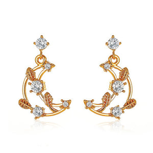 Fashion Simple Gold Earrings (1)