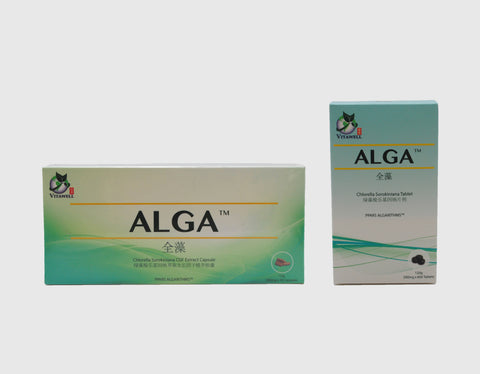 ALGA™ Chlorella Sorokiniana Bundle Pack [Tablet + Capsule]
