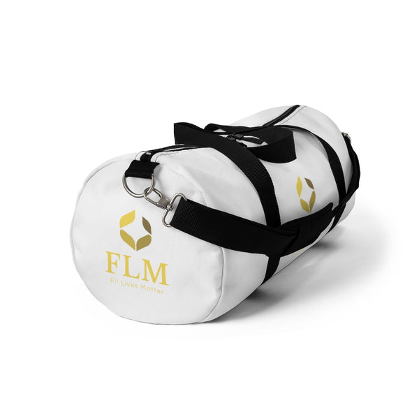 White Fit Lives Matter Duffel Bag