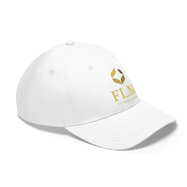 White Fit Lives Matter Twill Hat