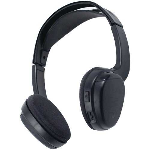 Power Acoustik WLHP-100 Wireless IR Headphones for Power Acoustik Mobile A/V Systems
