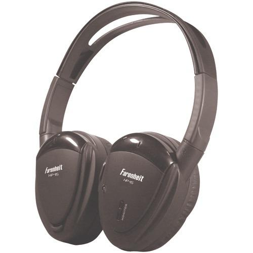 Power Acoustik 1-channel Wireless Ir Headphones (pack of 1 Ea)