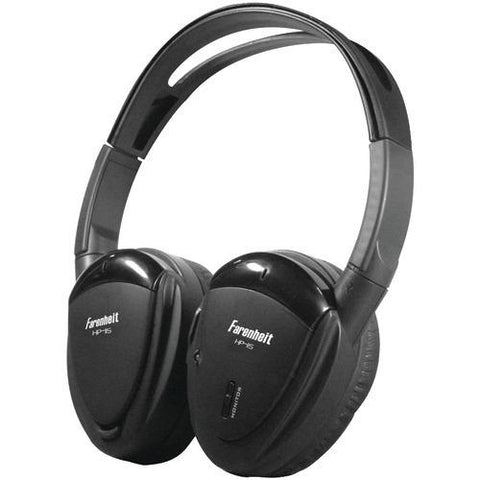 Power Acoustik 2-channel Wireless Ir Headphones (pack of 1 Ea)