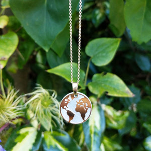 women's Earth necklace